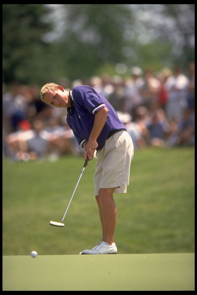 Luke Donald at the 1999 NCAA Championship.