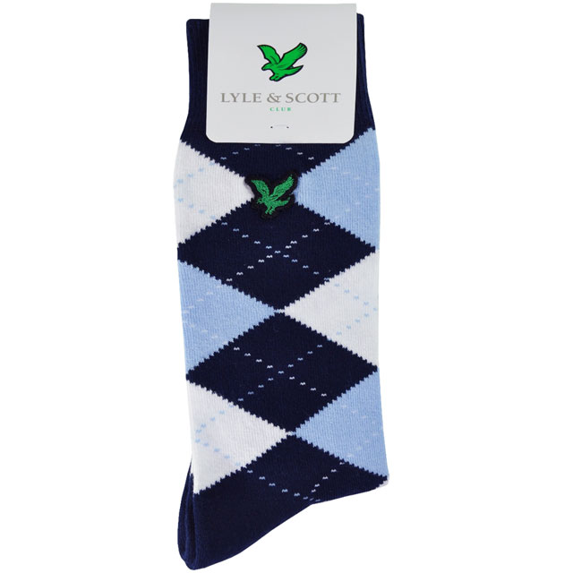 "Lyle & Scott Argyle Socks                       $19, lyleandscott.com                       The classic mid-calf argyle stock from Scotland's Lyle & Scott is a cut above. Made of 82 percent cotton, 17 percent nylon, and 1 percent elastene, it has a cushioned instep for comfortable walking. It's a little fashion finishing touch that says ""golf."""