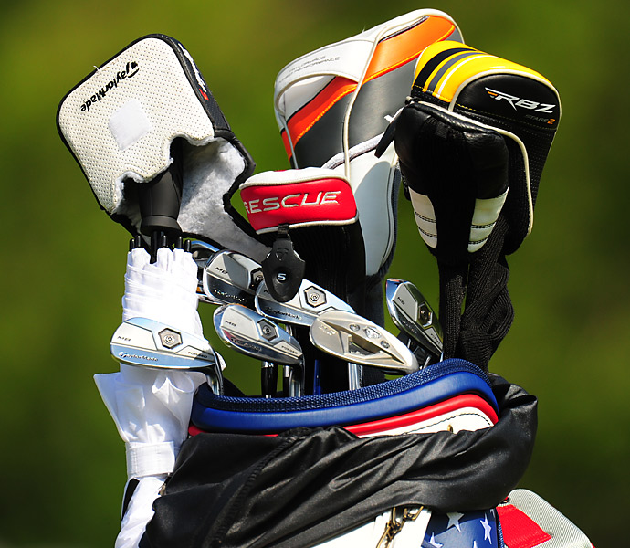 Marcus Fraser plays TaylorMade MB Forged irons.