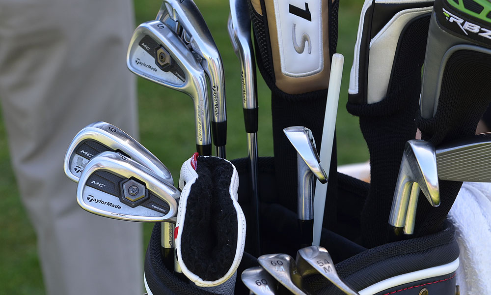 Scotland's Martin Laird has created a mixed set of TaylorMade Forged Tour Preferred MC mid- and short-irons and TaylorMade Tour Preferred long irons.