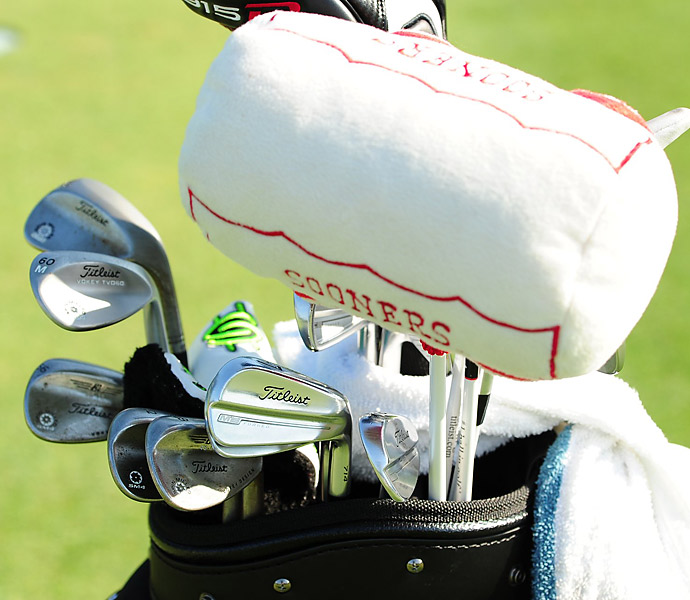 Martin Flores plays Titleist MB Forged irons and Vokey SM4 wedges.