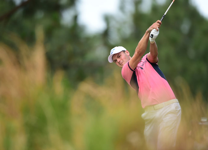 If Kaymer wins, he'll be the first German to win the U.S. Open.