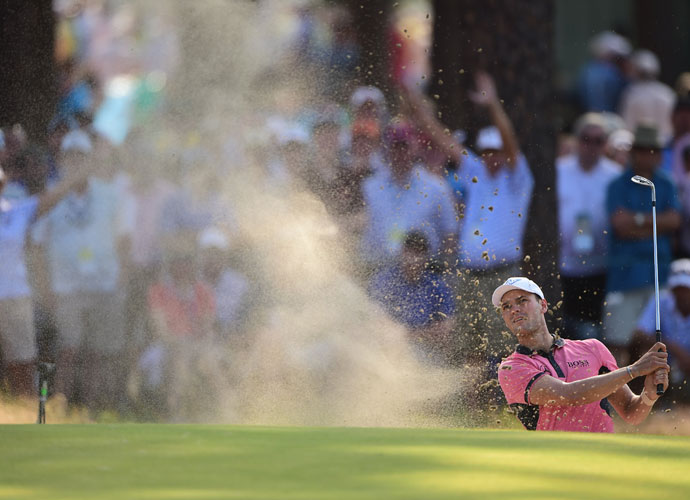 Kaymer has converted 3-of-4 sand saves.