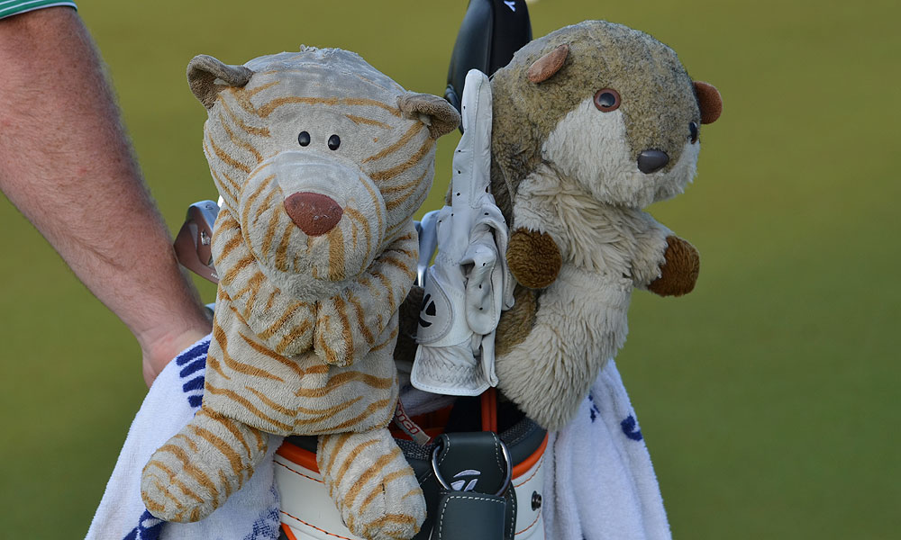 Kaymer's brother gave him these headcovers, which he has used for years.