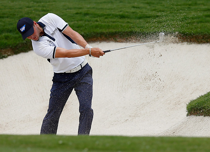 Players champion Martin Kaymer was at five under after three rounds.
