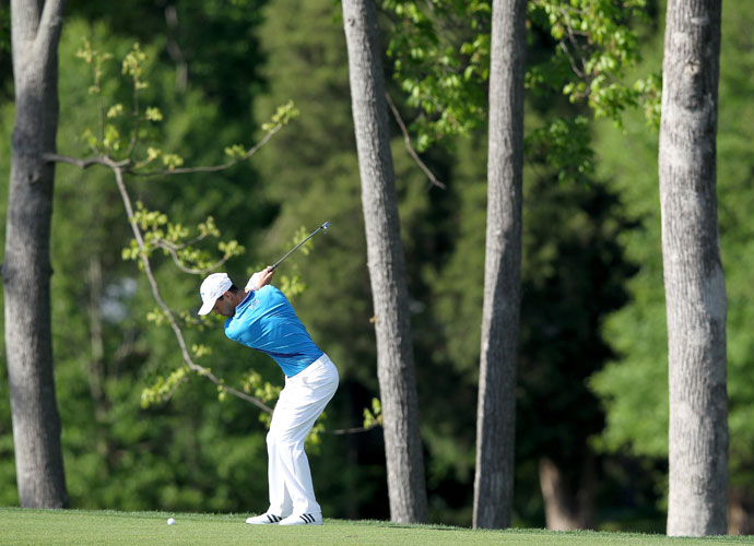 Martin Kaymer kept himself in contention with his second consecutive 69. He was 6-under headed to Saturday.