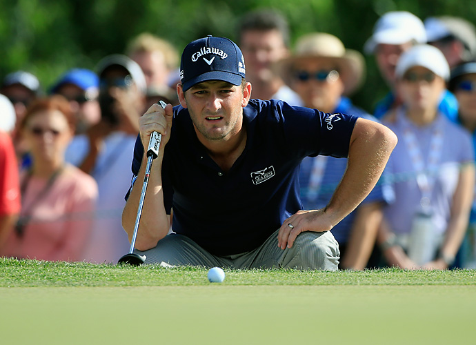 Every dropped four birdies in a five hole stretch (from No. 9 to No. 13) to surge past 54-hole leader Adam Scott.