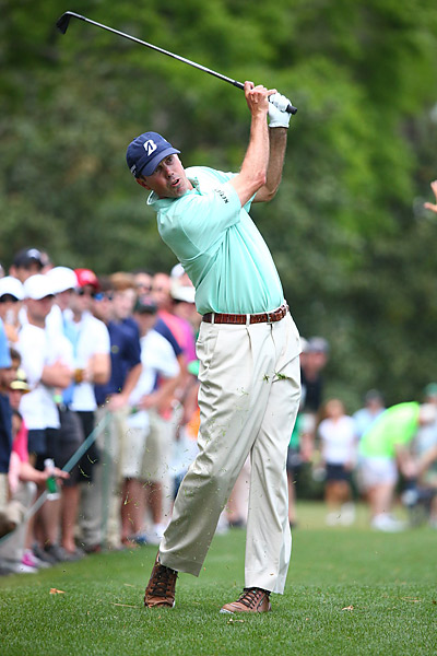 But Kuchar failed to keep the momentum going throughout his round.