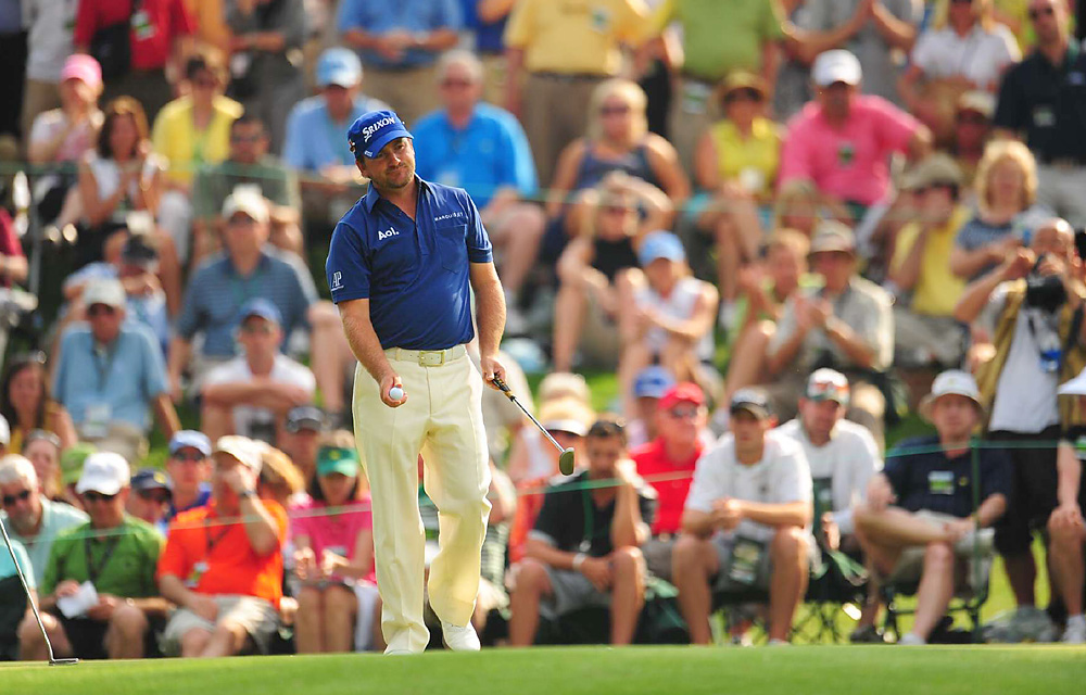 Graeme McDowell                       McDowell earned his first major title at the 2010 U.S. Open and entered 2011 as arguably the hottest player in pro golf. He finished third at the season-opening Hyundai Tournament of Champions at Kapalua, and it would turn out to be his best worldwide result of the year until finishing third again at the WGC-HSBC Champions in November.