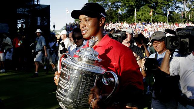 Medinah Country Club, Medinah, Ill.                       Tournaments Won: PGA Championship (1999, 2006)                       Total Winnings at Course: $1,854, 000