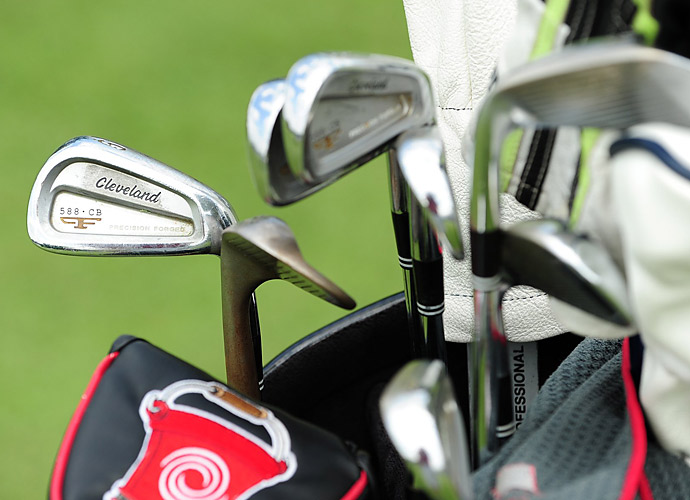 Michael Putnam has Cleveland 588 CB irons in his bag.