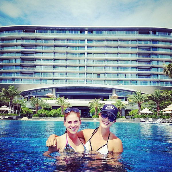 @themichellewie This place is incredible!! #HainanIsland #MondayFunday @belenmozo