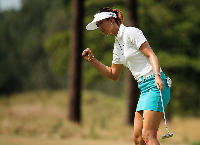 Wie's play has improved markedly in 2014.