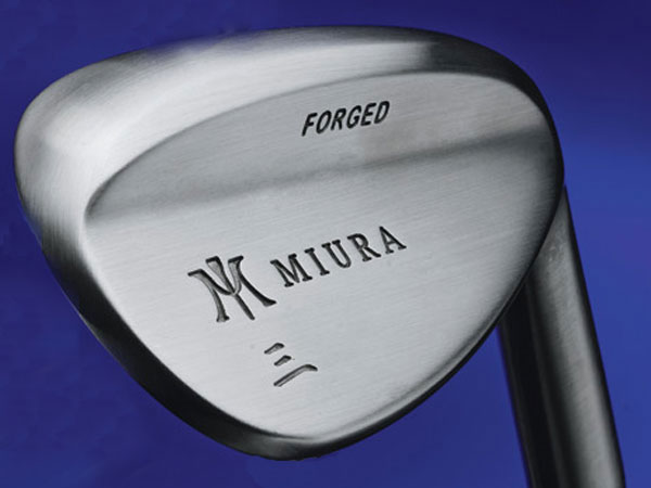 "$169 or higher, depending on shaft                     miuragolf.com                     Made of: Forged carbon steel                     Loft/bounce: 52°/6°, 56°/9°, 60°/7°                      Hosel-less head, made from a single                     steel billet, is stamped under pressure                     more than other forgings to produce a                     tighter grain structure and softer feel.                     Milled hosel (separate piece) attaches to                     head through friction, or ""spin-welding.""                     Heel-and-toe sole relief and a rolled                     trailing edge provide versatility.                     Head treatment is applied so the finish                     ""ages"" rather than rusts.                     Custom grind by owner's son,                     Yoshitaka Miura."