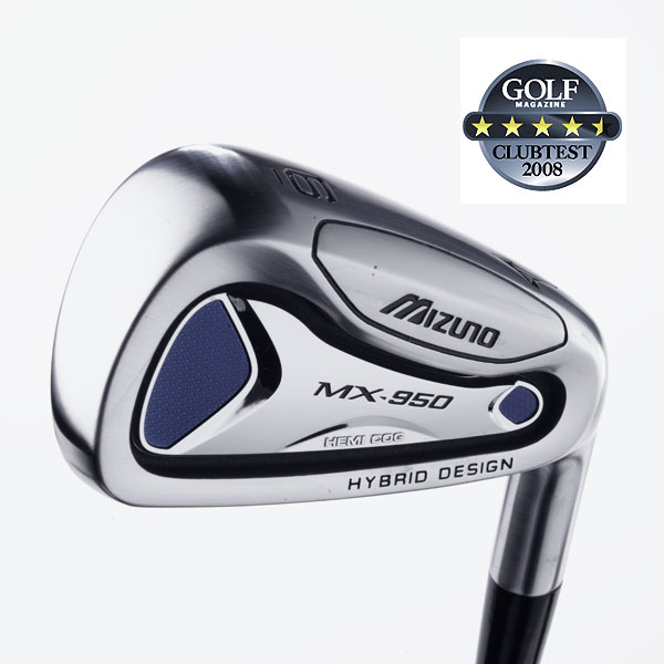 "Mizuno MX-950                    $899, steel; $999, graphite                                                         We tested: 3-PW in Exsar IS2 graphite shaft. Shaft length/loft (6-iron): 37.25""/30°                                       Company line: ""This hybrid iron set delivers ease of launch, unparalleled forgiveness and maximum game-improvement playability. The 3- and 4-hybrids have internal tungsten weights for massive MOI, and deliver high, straight, ultra-forgiving shots.""                                       Our Test Panel Says:                    PROS: A top-shelf, all-around performer; forged short irons provide discernible feedback around the green; among the best for forgiveness, there seems to be no situation it can't handle; you'll know where you hit these on the face; workability can be a real feature for those looking for it; the top hybrid transition set tested; a precise instrument when chipping.                                       CONS: Enhanced feel works both ways, this set can sting on a bad shot; a few testers are left wanting more from hybrids out of rough.                                       ""A combo set that provides a good option from every lie."" — Kevin DiNapoli (19)                                      Rate and Review this club"