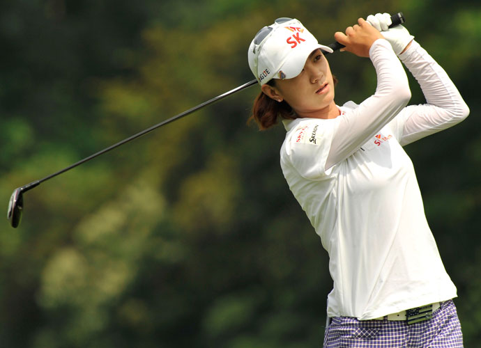 Who has the best swing?                      LPGA player responses:                       NA YEON CHOI: 26 percent                        KARRIE WEBB: 20 percent                        SUZANN PETTERSEN: 16 percent                        STACY LEWIS: 10 percent                        ME: 10 percent                        JESSICA KORDA: 9 percent                        HEE YOUNG PARK: 9 percent