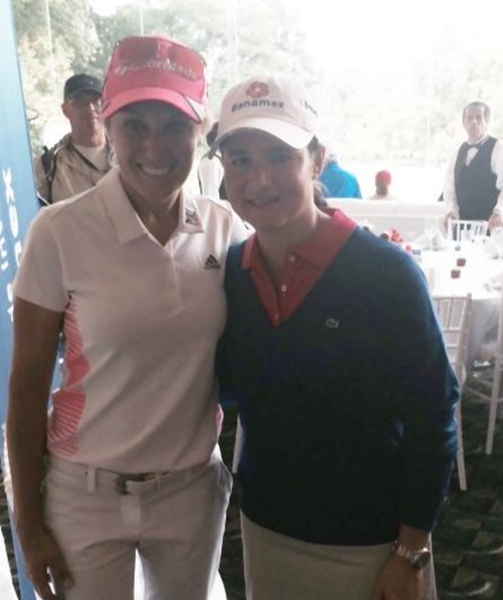 @natalie_gulbis So wonderful to see my friend and Teammate Lorena. I sure miss her on tour! @LorenaOchoaR