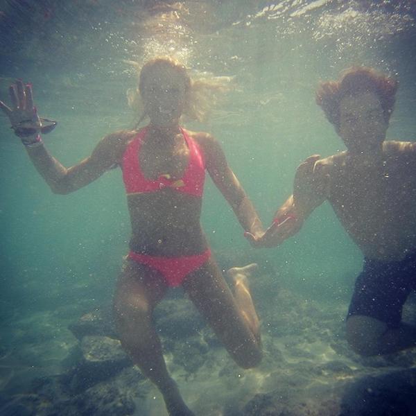 @natalie_gulbis Snorkeling!