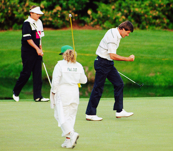 Nick Faldo is a three-time Masters champ (giving him a lifetime exemption) and only 55 years old. Furthermore, Faldo appears to have kept himself much fitter than some of his contemporaries. All of these signs point to Sir Nick competing for his fourth green jacket this year. One problem: he'll be in the broadcast booth Thursday-Sunday.