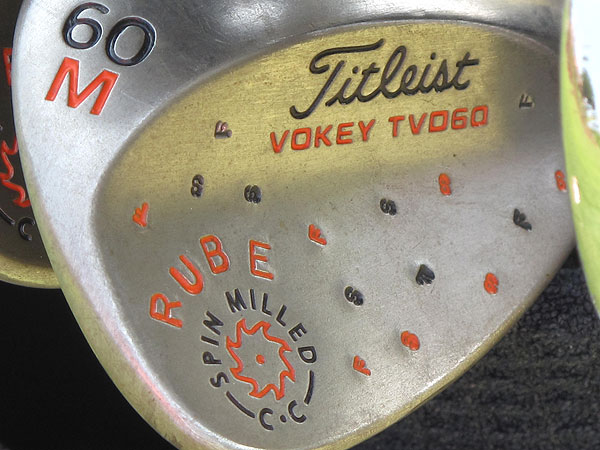 Watney is a die-hard San Francisco Giants fan and shows support for his team on his Titleist Vokey Spin Milled wedges.Nick Watney is a die-hard San Francisco Giants fan and shows support for his team on his Titleist Vokey Spin Milled wedges.