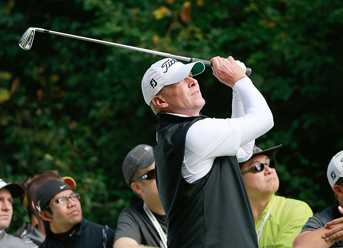 Steve Stricker continued his stellar play in 2013, finishing T4.