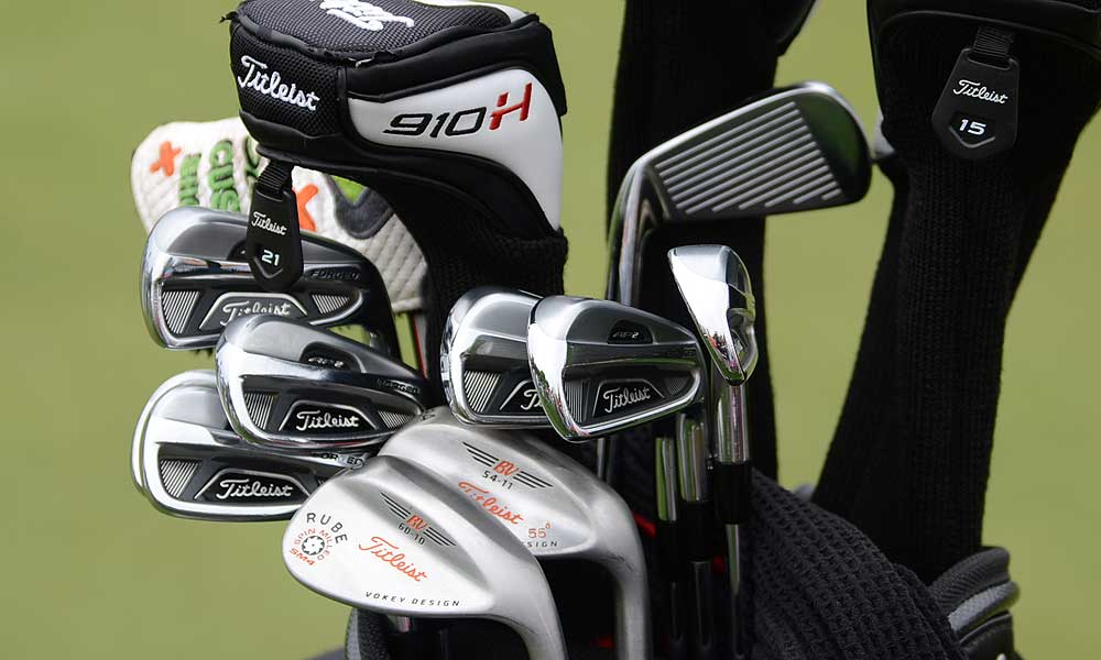 Nick Watney switched to Titleist's 712 AP2 irons last season and Vokey Design Spin Milled SM4 wedges