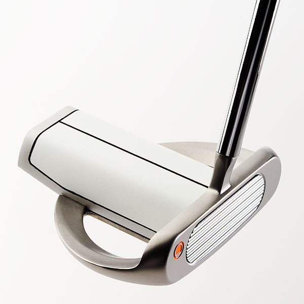 "$99                     nickentgolf.com                       John B. Hoeflich, COO:  ""Many alignment putters can look square in the address position but they really aren't lined up to the hole. The PIPE has '3-dimensional alignment' to solve that problem. Don't believe it? Ask somebody who has one and is making more putts than his buddies.""                                           How it works: The white cylinder, or pipe, provides a strong visual display of where the putter is aimed. (The pipe is 1.68 inches, which is the same diameter as a golf ball.) A heavy tungsten rear plug (15-percent of the putter weight) contributes to its high MOI and low center of gravity so putts skid less and start rolling sooner."