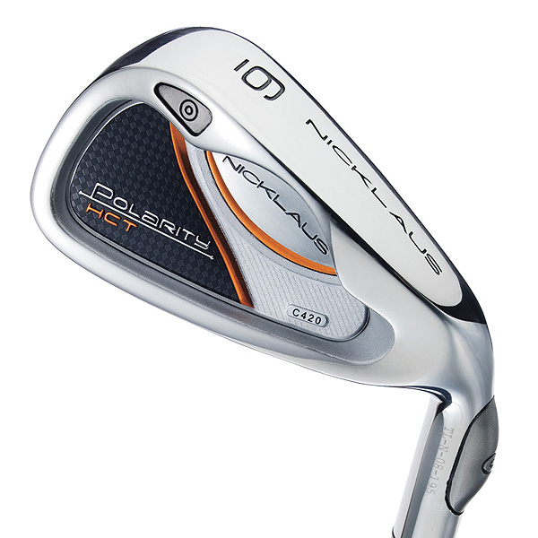 """$849, graphite                     nicklausgolf.com                                          It's for: Mid- and high-handicappers                                          Clay Long, Chief designer:                     """"This year's 'high CT' iron                     incorporates our patented                     'extreme weighting' technology into                     an already great-performing iron.                     Repositioning mass allows the hosel                     weight to be counterbalanced while                     maintaining a low center of gravity.                     The blade shape is close to the                     original model, which enables the                     thin 'hot' face and improved weight                     distribution to do the work. This iron is                     great for distanced-challenged golfers.""""                                          How it works: This hybrid iron set                     features Clay Long's innovative """"polar                     weighting"""" concept. The club's perimeter                     weighting (from toe to hosel) extends                     well beyond that of a typical cavity-back.                     The premise is to drastically reduce                     clubhead twist at impact. Polarity HCT                     has a large, flexible face (suspended in                     a stainless steel body) to generate faster                     ball speed and, ultimately, longer shots."""