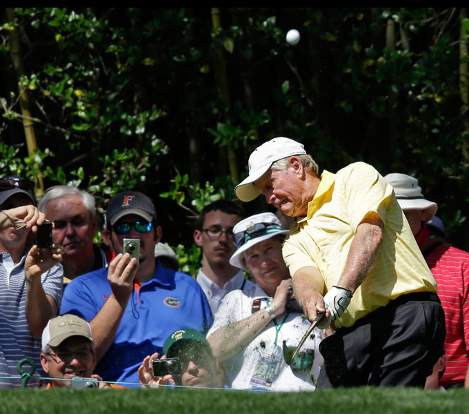 Nicklaus has won more Masters championships than any other golfer with victories in 1963, '65, '66, '72, '75, and '86.