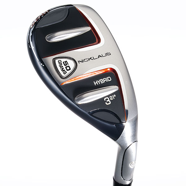 Nicklaus Claw                       $99, graphite                       nicklaus-golf.com                       The iron-like topline (it's thin, straight                       and silver) makes the Claw easy to                       square at address. A conventional                       hybrid-like rear section helps shots                       fly like, well, a hybrid. Two rails on                       the sole plus a center runner reduce                       turf contact and stabilize the head. A                       50-gram stainless steel plug along the                       sole contributes to higher ball flight.