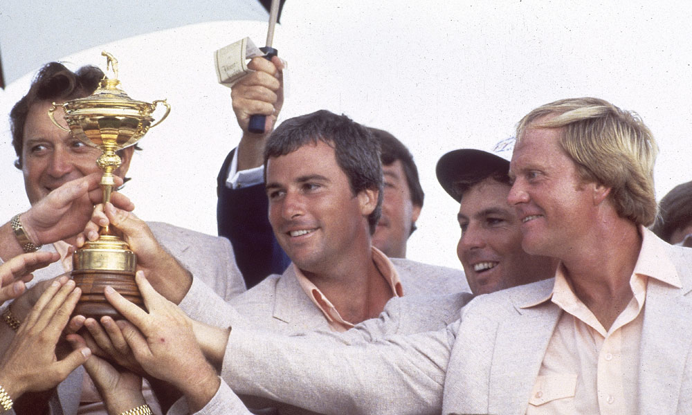 Jack Nicklaus, 1983. Jack Nicklaus captained the U.S. team to a 14.5-13.5 victory at the PGA headquarters in Palm Beach Gardens. There was no intensity in Nicklaus's preparations or his captaincy. It followed from his core belief, that the Ryder Cup is a nice golfing exhibition.In 1987, Big Jack came back for a repeat performance, now with the stakes far higher. The U.S. was coming off a loss and the matches were played at Muirfield Village, Jack's own course. Nicklaus went deep on course setup but still didn't think it was his role to be the team cheerleader. Plus, Europe was too good. Your final: Europe 15, U.S. 13.