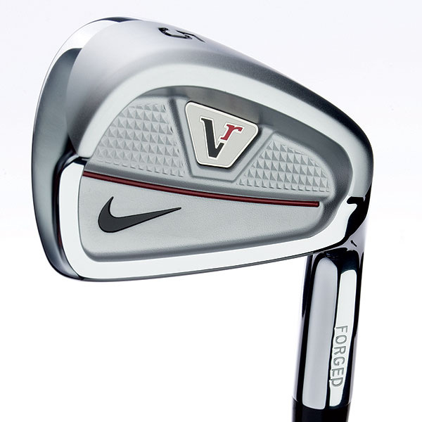 Nike Victory Red Forged Split Cavity                       $899, steel                       nikegolf.com                       Construction: Forged 1025 carbon steel                                              • Split-back design                       positions the                       club's center of                       gravity behind                       the sweet spot.                                              • Shallow cavity                       offers a blend                       of shot-shaping                       workability and                       forgiveness.                                              • CNC-milled clubface                       ensures repeatable                       performance                       and flight.