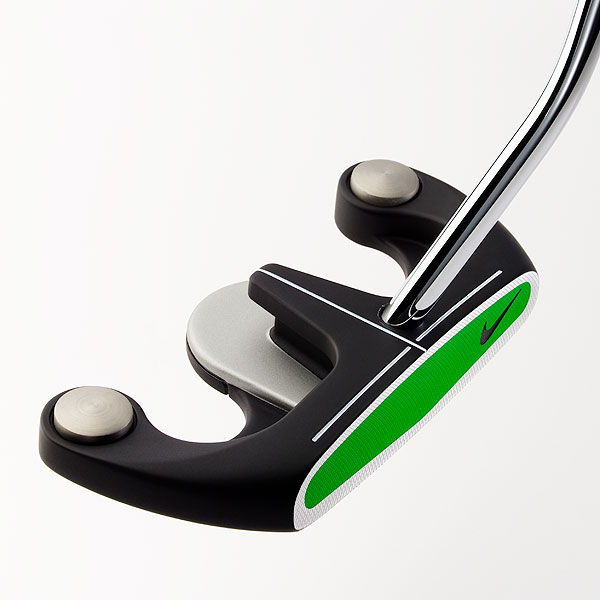 "$99                       nikegolf.com                         David Franklin, Club Designer/Putters:  ""When designing the OZ 6, I heard comments like 'it looks like a jester's hat' and 'I'd have to get a bigger golf bag to use it.' Well, get a bigger bag, if necessary, because OZ 6 is worth it. The unconventional design is so stable that you have to work to make it wiggle during a stroke. It looks this way due to physics. Just one practice stroke will show you.""                                               How it works: The face-balanced design has a large clubface that's milled flat for consistent output. A soft, light polymer insert (63-percent lighter than aluminum) frees up mass that's moved to the head's perimeter for added stability. Lastly, the T-shaped sight line makes it a cinch to aim.                                               Buy and Compare This Putter"