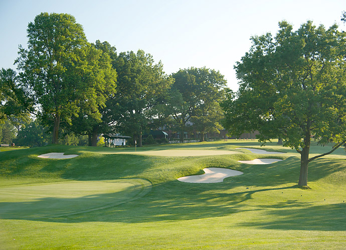 Oak Hill East is ranked No. 60 on Golf Magazine's Top 100 Courses in the World and No. 32 on the Top 100 Courses in the U.S. list. (Pictured: 18th hole)