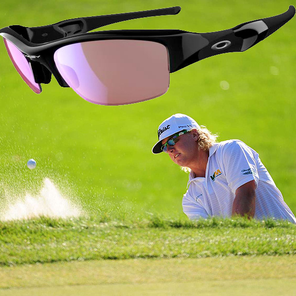 $150, oakley.com                       Ian Poulter, Ben Crane, Charley Hoffman (shown) and Louis Oosthuizen all won golf tournaments in 2010 wearing Oakley sunglasses. The company's G30 lenses boost visual contrast—especially in flat light and overcast skies—to make reading greens and seeing your target easier.
