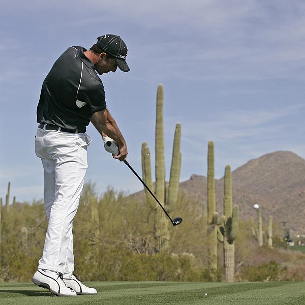 Working the ball over and around the killer cacti at The Gallery was no trouble for Geoff Ogilvy, winner of the 2006 WGC-Accenture Match Play championship.