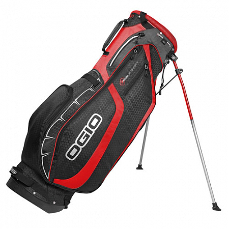 $160, ogio.com                       The Helios is the lightest bag in Ogio's new UltraLite Series, tipping the scale at just 3.3 pounds. But while weight was shaved all over the place, features like a fleece-lined valuables pocket, a hydration pocket and ventilated shoulder straps remain.
