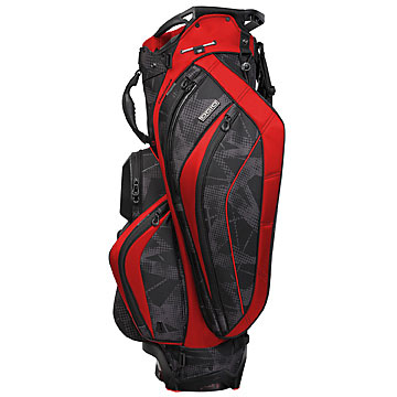 2013 OGIO Chamber Cart Bag                     $360, ogio.com                     Equipped with the signature Silencer Club Protection System, the OGIO 2013 chamber cart bag boasts supreme stability with its 14 individual compartments to protecting clubs from scratches and dents. The bag also features a zipperless ball pocket; a crush-resistant pocket; an insulated and zippered cooler pocket; and a weather-resistant, fleece-lined valuables pocket with cell phone sleeve.