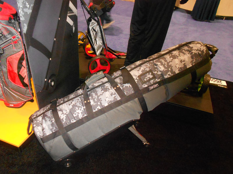 Sun Mountain's new travel bag, the ClubGlider Journey, is available in five different colors and prints.