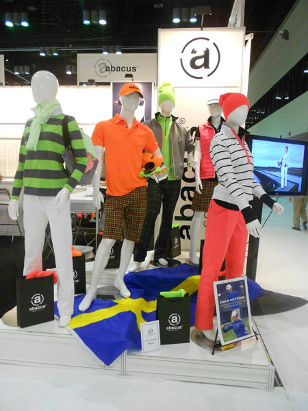 Abacus, a Swedish golf apparel company, will outfit the 2013 European Solheim Cup team.
