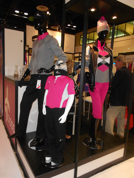 Cross Golf, a Swedish apparel brand, makes bright, beautiful golf apparel for men, women and children.