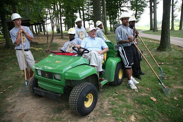 "The Samaritan                     RON PILOT, 79                     Keeping troubled kids on the course and off the streets                                          Glenmillsgolf.com                                                               ""I've had it pretty good in life, so 10 years ago I decided to do more                     to help the kids who are sent to the Glen Mills reform school [near                     Philadelphia], where I'm a board member. All the kids, who range                     from age 15 to 18, are sent here by the courts for getting in trouble                     with the law. I put them in charge of the school's golf course. They                     learn to run a pro shop, how to mow rough, rake bunkers. It's a                     whole new world for them. These are inner-city kids. Some have                     literally never stepped foot on a piece of grass before they get here.                     And they're not bad kids; they've made bad decisions. Like one kid I'll call 'Mike.' When he was 16, Mike had a job parking cars and decided to take a joy ride in a couple's BMW — for two days. Boys will be boys! Here, they learn structure, discipline. They get                     up at 4:30 a.m., work the register, fold shirts and run $250,000                     diesel mowers. The kids can stripe a fairway as good as anyone                     at Augusta. They take what they learn into the world. We've had                     400 kids from 27 states and placed 50 of them in paying jobs in                     the golf industry. [Laughs] No, Mike never did ride the mower.""                                                               Help us choose the 2008 Innovators!"