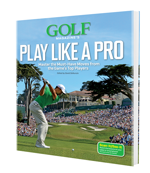 Golf Magazine's Play Like a Pro ($29.95; amazon.com): GOLF Magazine's Top 100 Teachers break down must-have techniques from the world's best players and show how to incorporate them into your motion quickly and easily. Also included: Scan-It/See-It technology, which seamlessly connects you to 65 instruction videos via your smartphone or tablet that bring these crucial moves to life.