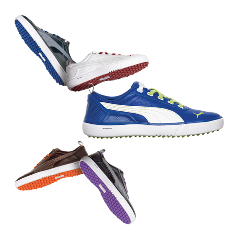 Puma Monolite, $100; cobrapumagolf.com                     Available in five colors, this lightweight, spikeless shoe features a waterproof leather upper and is available for both men and women.