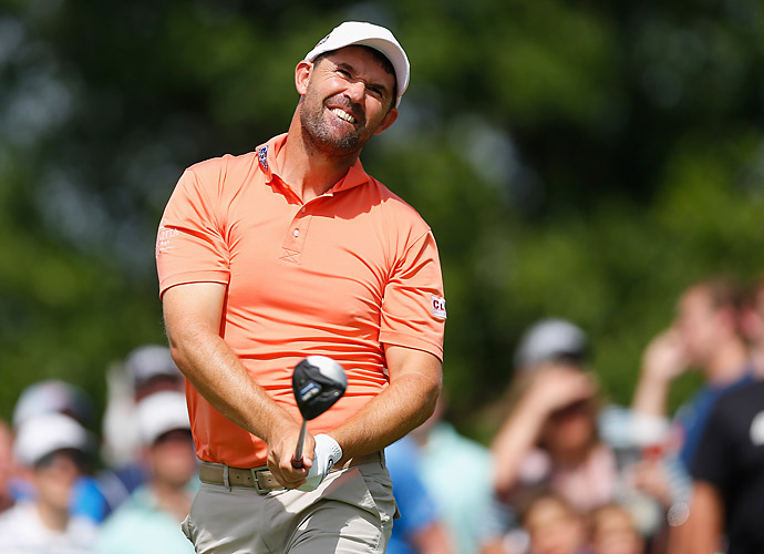 Padraig Harrington shot a 66 to get to eight under.