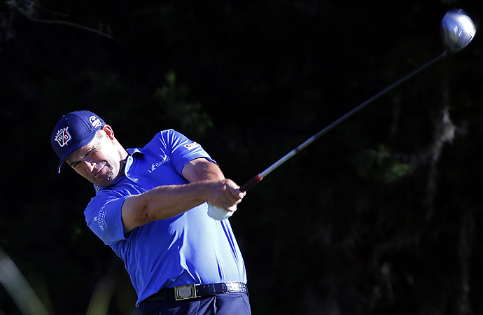 Padraig Harrington had a 71 on day one.