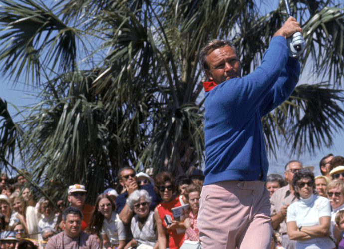 "7: Arnold Palmer                       There was enough good in his swing to help win those seven majors, but his follow through was pointed out by our Top 100 Teachers. ""He's obviously a great champion and great for the game of golf, but his 'wild' swing never looked in control,"" said Kellie Stenzel."