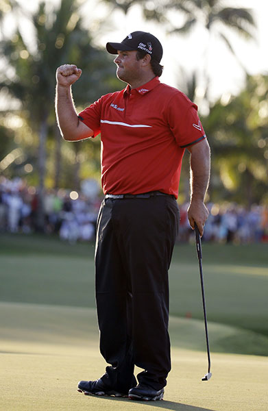 "BEST IMPRESSION OF CASSIUS CLAY                     He never said, ""I am the greatest,"" like Ali did -- he just said one of the greatest. The Sunday red he wore while winning the WGC-Cadillac Championship at Doral spoke volumes, and so did Reed himself. He capped his victory at Doral -- Reed's third Tour win in seven months -- by listing his achievements alongside Tiger's, anointing himself ""one of the top five players in the world."" Eyebrows arched. Six months later, Reed went 3-0-1 at the Ryder Cup, one of Team USA's few bright spots. It ain't bragging if you can back it up with world-class play."