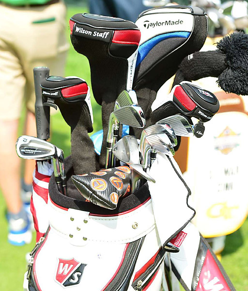 Paul Lawrie has Wilson Staff FG Tour irons in his bag.