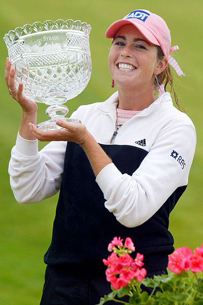 Creamer's first LPGA Tour win came in her rookie season at the 2005 Sybase Classic.